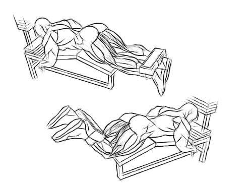 Разгибание ног в тренажере, какие мышцы работают, схема тренировок