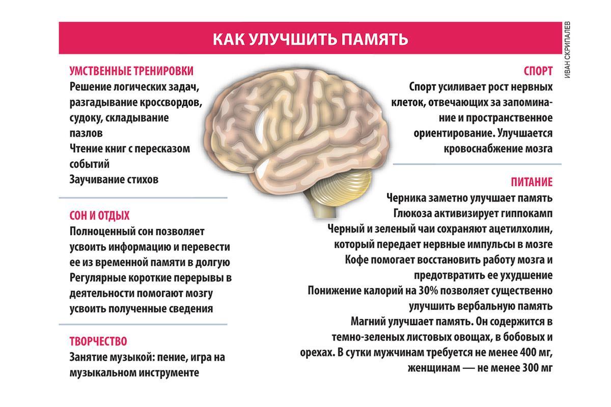 Как развить память и внимание - упражнения и приложения