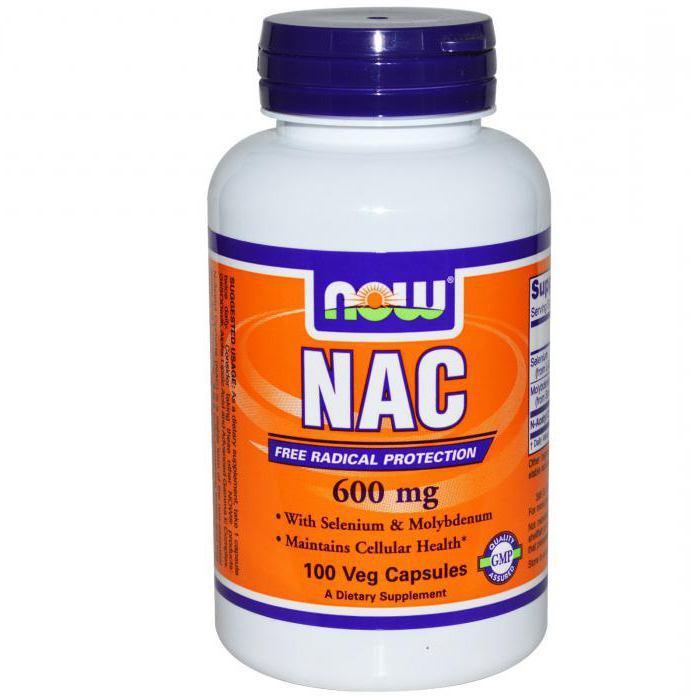NAC: что это за добавка, польза и вред для спортсмена, инструкция