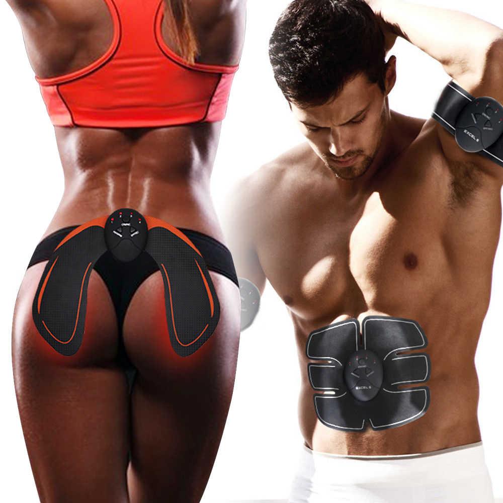 Миостимулятор для мышц живота, ягодиц и груди