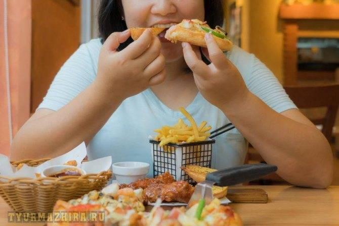 Девять симптомов компульсивного переедания