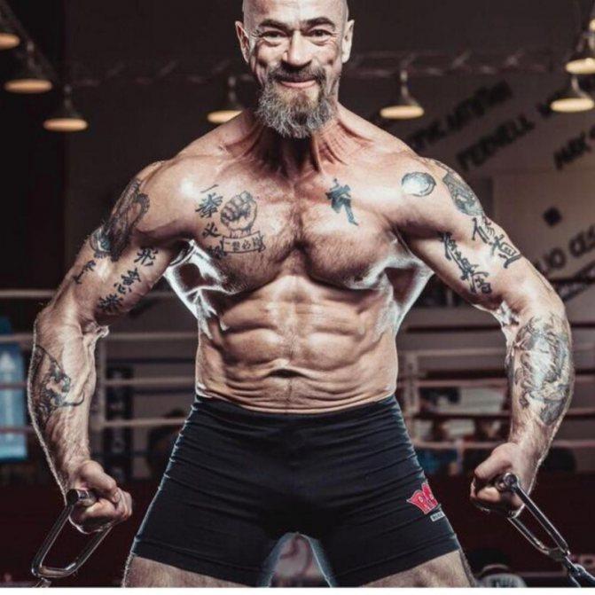 Спортсмен и актёр сергей бадюк: биография, дети, фото