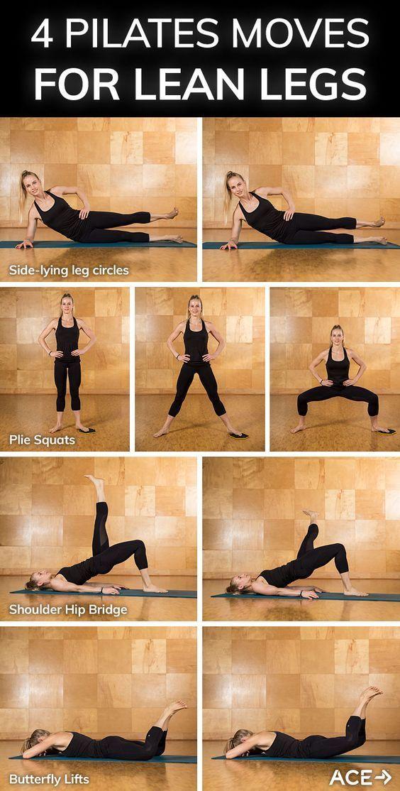 Пилатес дома для начинающих - комплекс упражнений для живота, ягодиц и бедер с видео