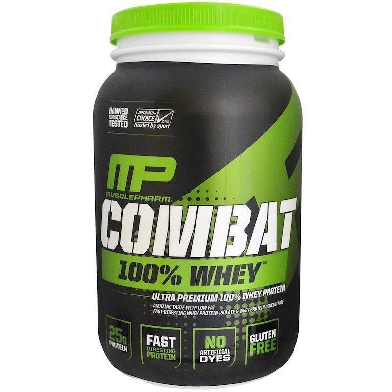 Combat от musclepharm - спортивное питание на dailyfit