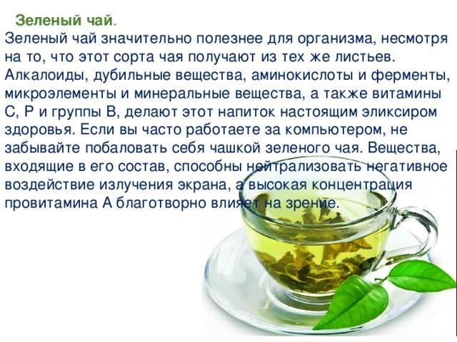 Польза и вред зеленого чая для женщин и мужчин, сколько можно пить, отзывы