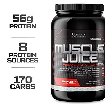 Muscle juice revolution 2600 5040 гр - 11lb (ultimate nutrition)