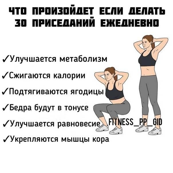 Как правильно делать приседания: подробная техника приседаний без веса, ошибки, польза