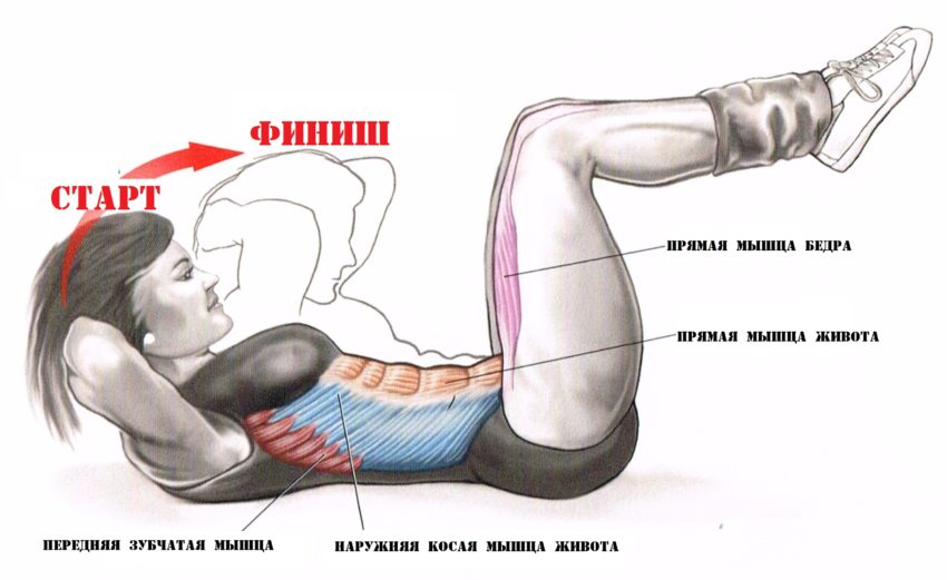 Мегаэффективный комплекс упражнений для похудения в области живота и боков. убрать бока в домашних условиях.