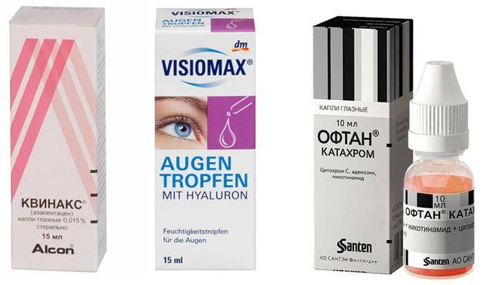 Капли для улучшения зрения при близорукости: советы по выбору