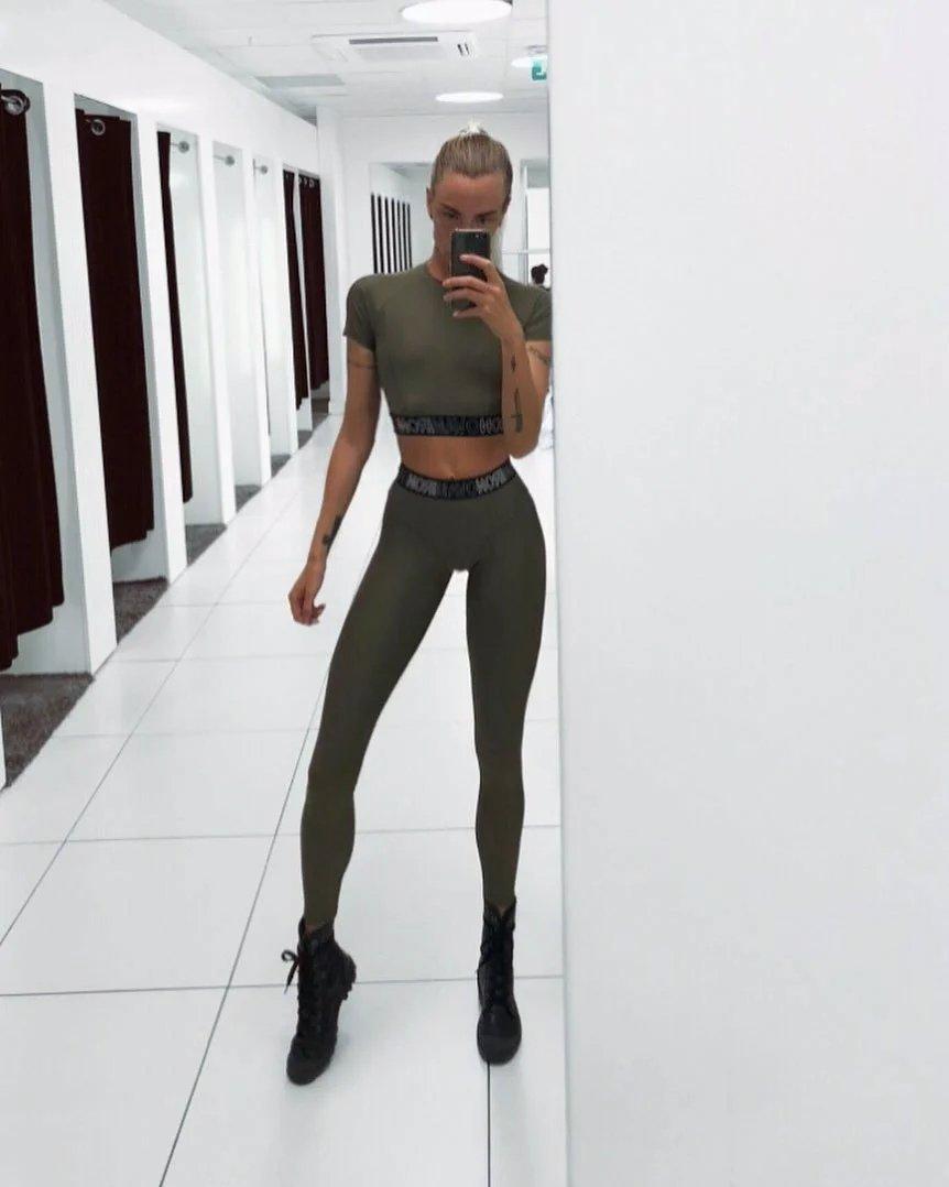 Шведская модель стала звездой instagram из-за невероятно длинных ног – фото | 1news.az | новости