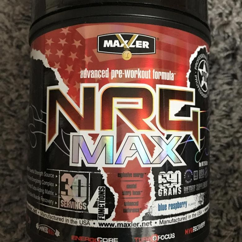 NRG MAX от Maxler