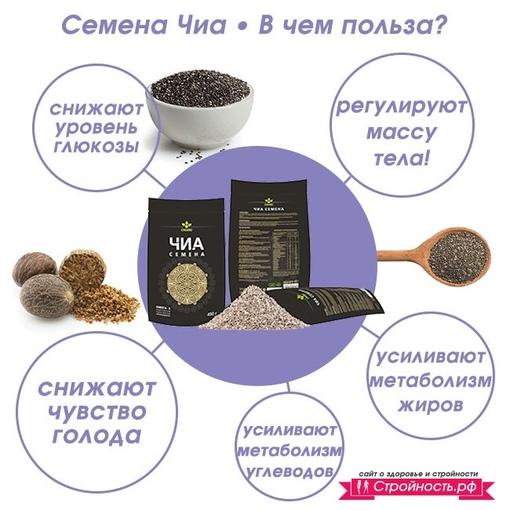 Семена чиа для похудения: в чем польза, способы употребления