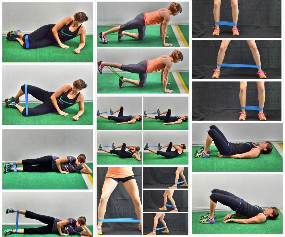 Упражнения с резинкой для мужчин, польза, техника выполнения