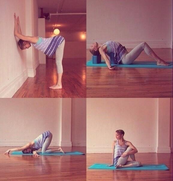 Топ 6 упражнений йоги при болях в спине
