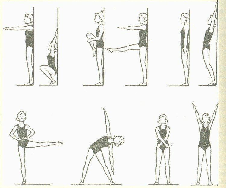 Упражнения от сутулости в домашних условиях для детей и взрослых