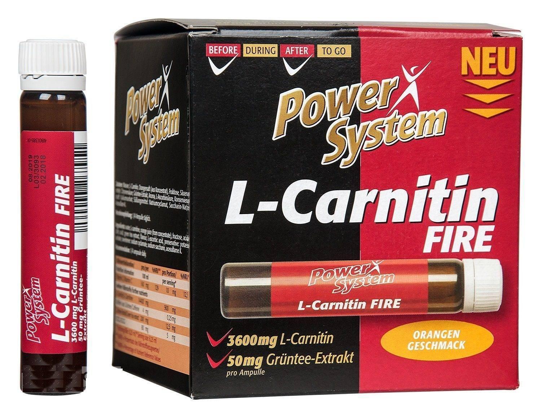 L-carnitine attack 3600 l-карнитин c гуараной, 1000 мл power system