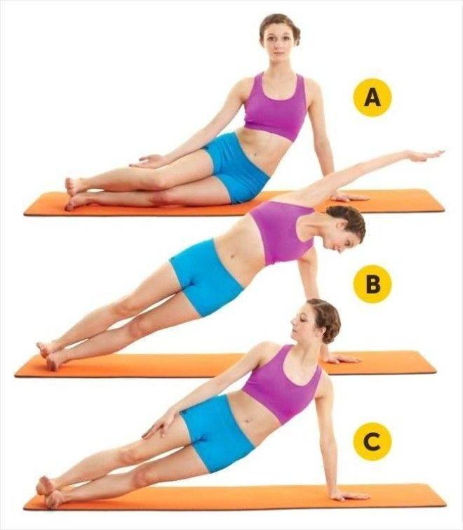 Эффективные упражнения для тонкой талии