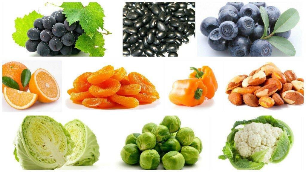 Антиоксиданты – с чем их едят???