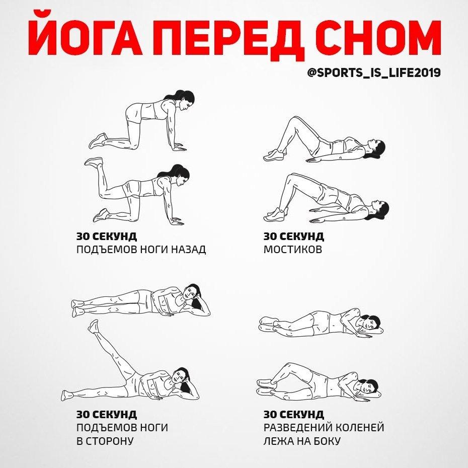 Утренняя и вечерняя зарядка в домашних условиях для похудения ног и рук