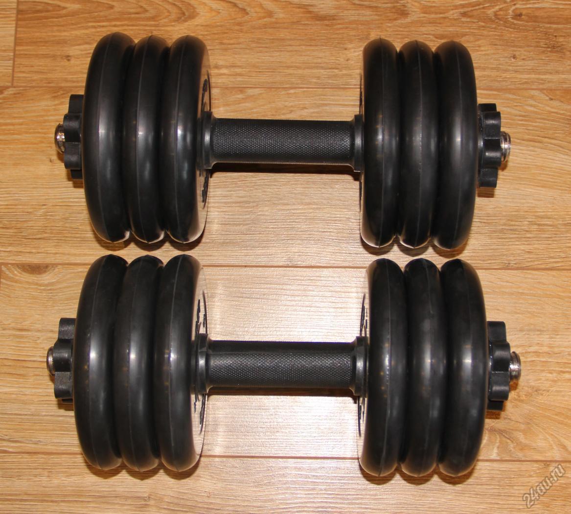 Гантели или штанга, что лучше для тренировки мышц дома в зале