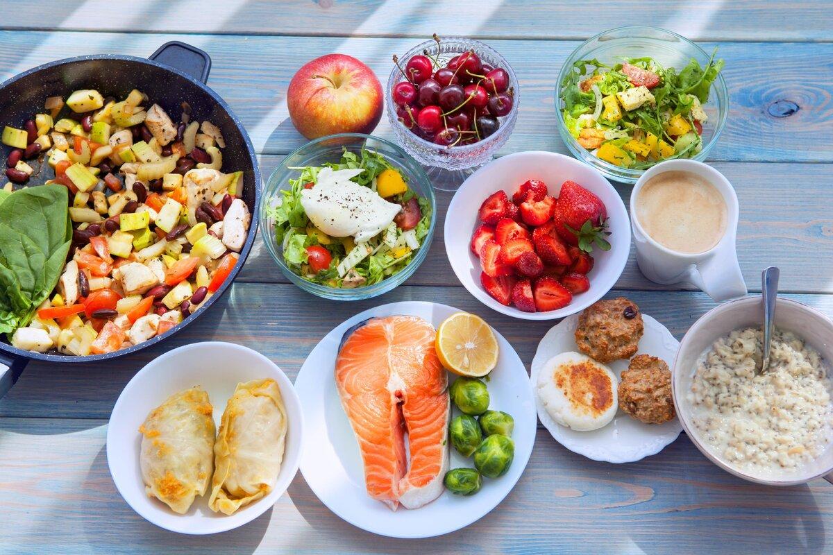 Правильное питание: меню на каждый день