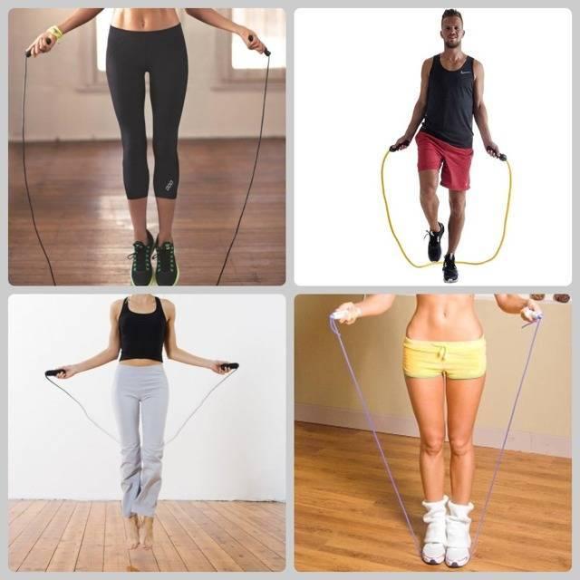 Как прыгать на скакалке, что бы похудеть - инструкция с фото и видео для начинающих