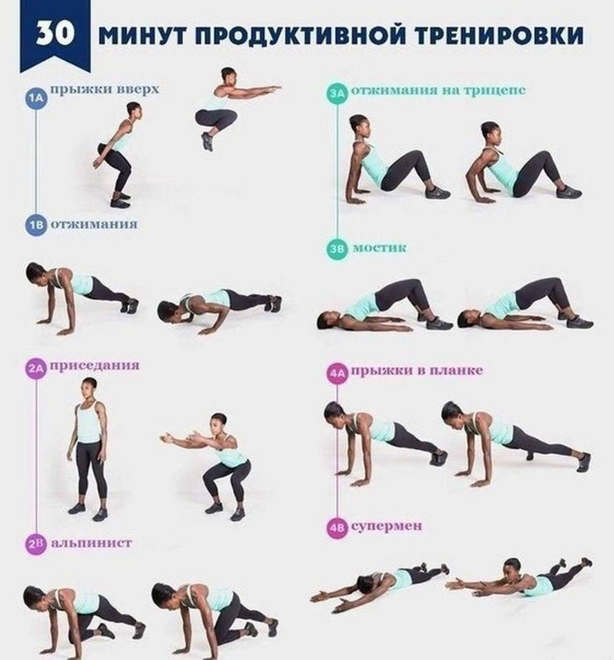 Упражнения с собственным весом для похудения: комплекс эффективных тренировок - allslim.ru