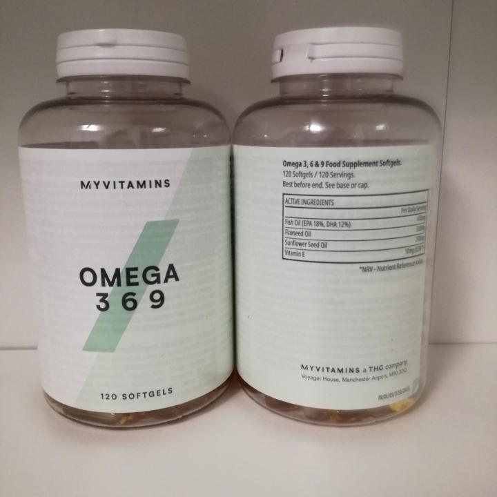 Omega-3 plus softgels