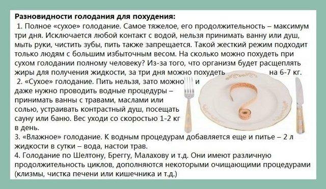 Польза и вред однодневного голодания. мнение специалистов