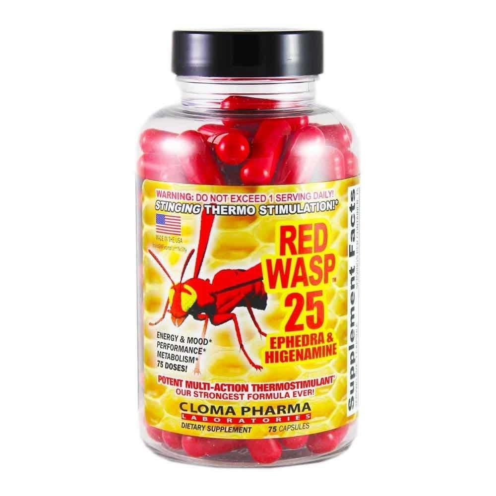 Red wasp 25 жиросжигатель побочные действия