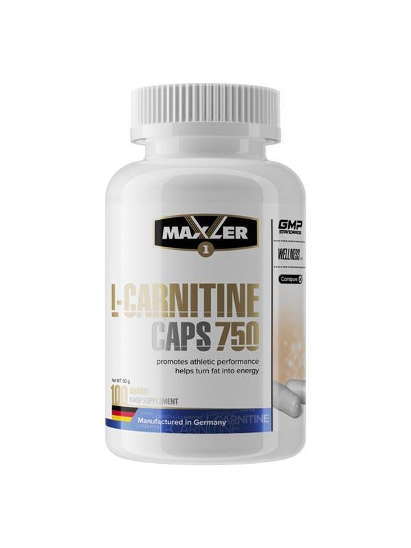 L-carnitine caps 750 от maxler: описание и состав