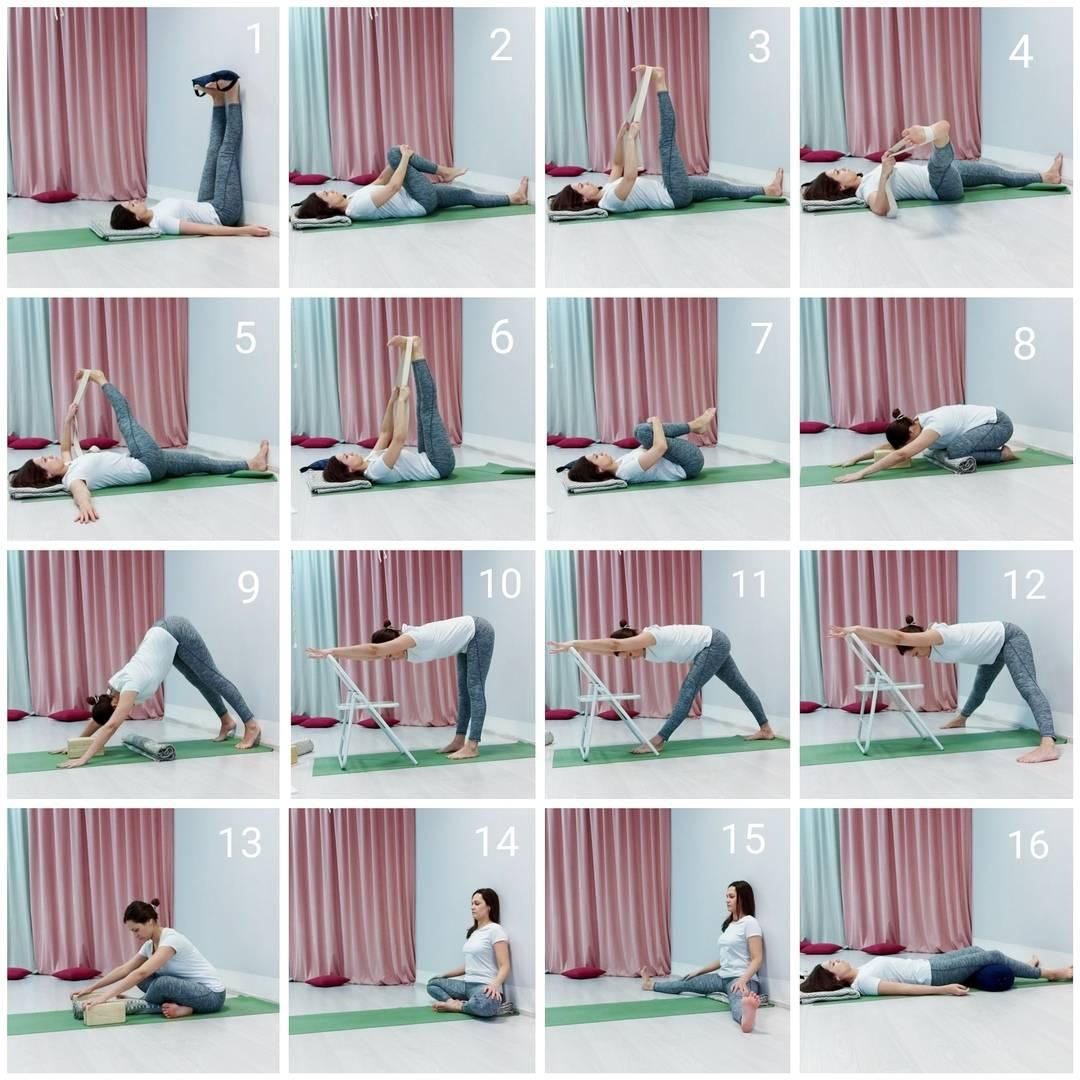 14 поз для растяжки из йоги для всего тела