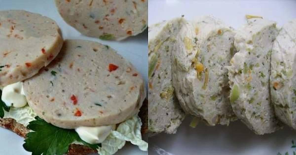 Куриная колбаска по домашнему рецепт с фото пошагово - 1000.menu