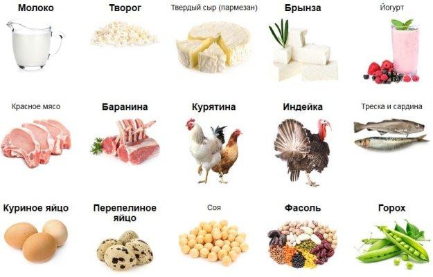 В каких продуктах много коллагена? содержится ли он во фруктах и овощах?