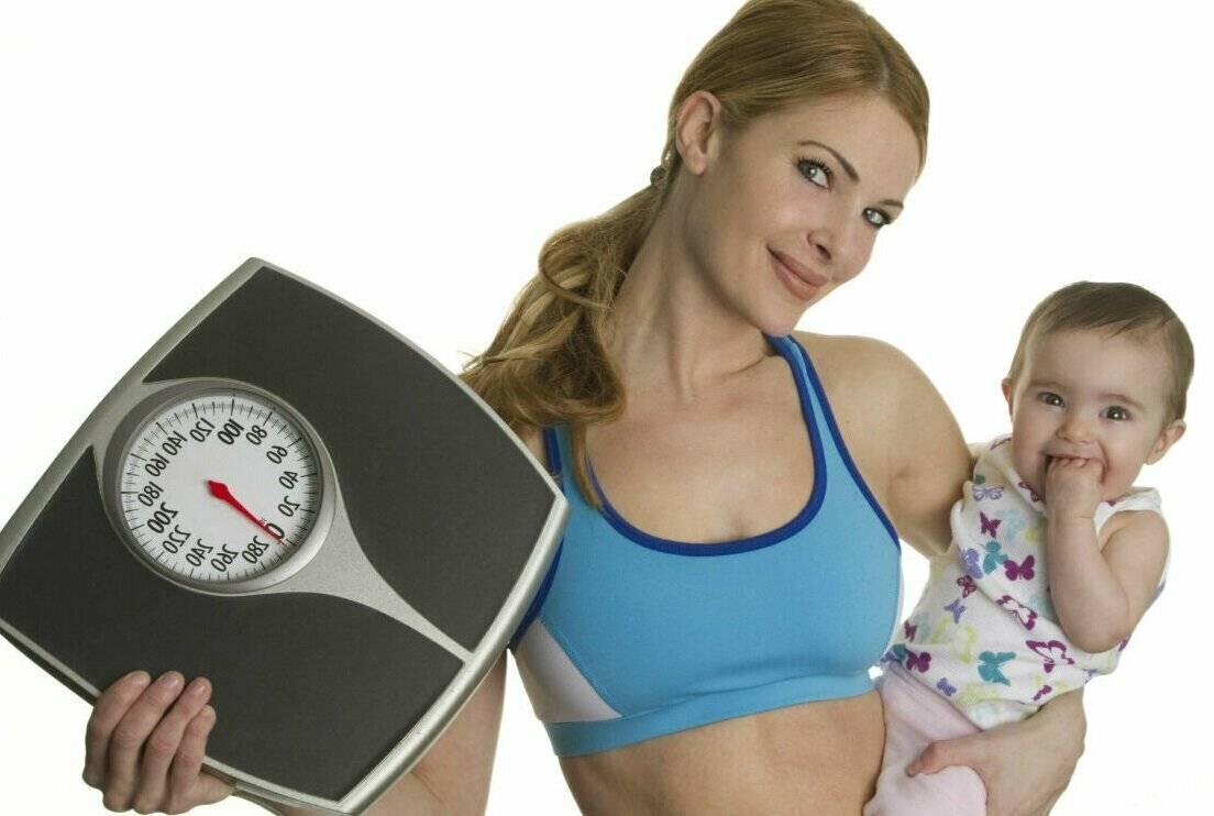 Как похудеть после родов эффективно и безопасно