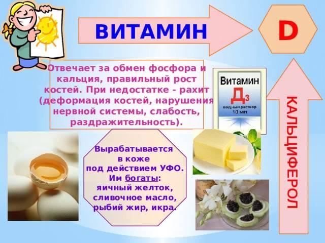 Недостаток витамина d: симптомы у взрослых