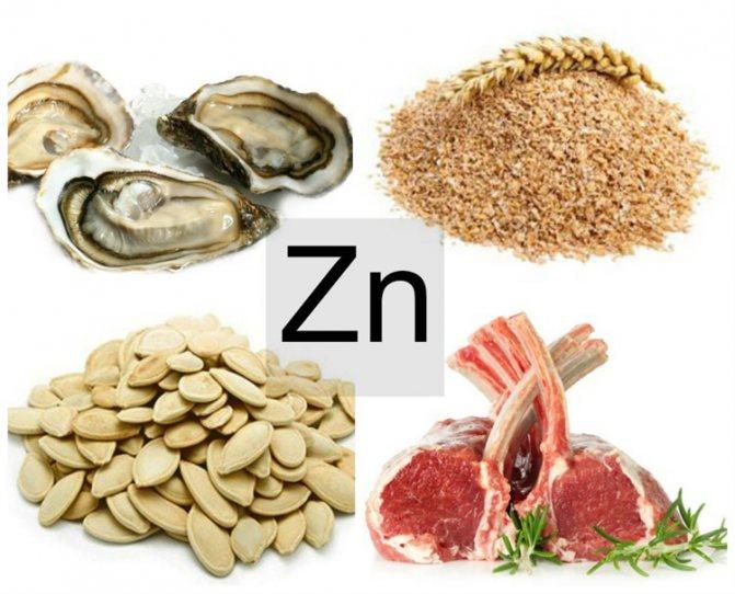 Цинк: польза и вред для организма, в каких продуктах содержится