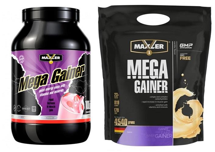 Как правильно принимать гейнер mega gainer от maxler