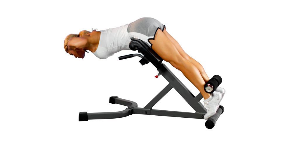 Упражнения для укрепления мышц поясничного отдела позвоночника в спортзале