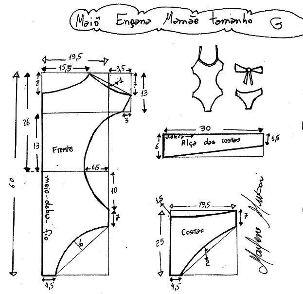 Как сшить купальник для художественной гимнастики