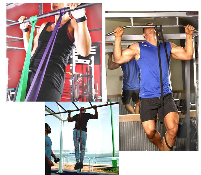 Упражнения с резинкой, польза и вред, техника выполнения, рекомендации
