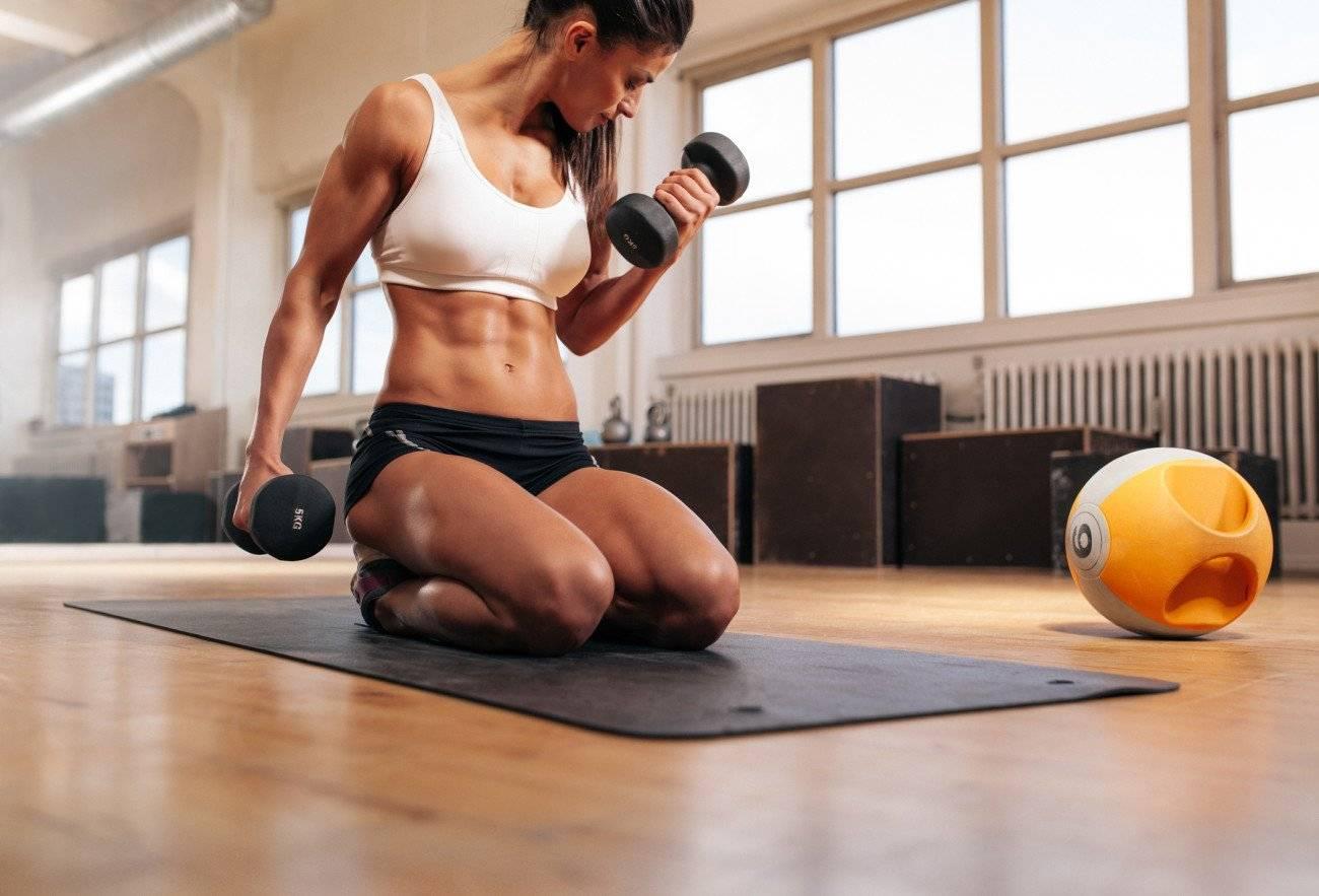 5 мифов о женской силовой тренировке - фитнесс гуру