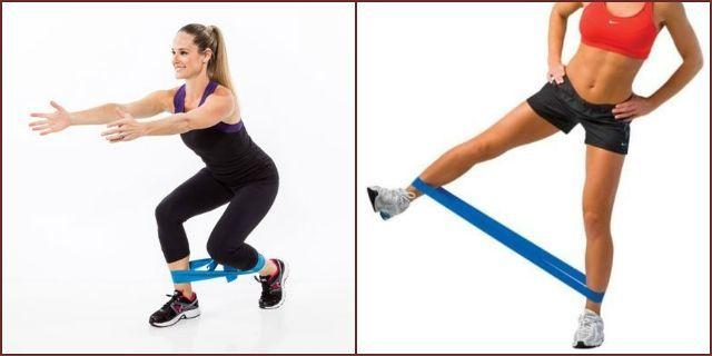 Тренировка с фитнес-резинкой —силовые упражнения для мужчин