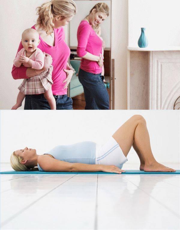 Как быстро похудеть после родов, восстановить фигуру - диеты и советы