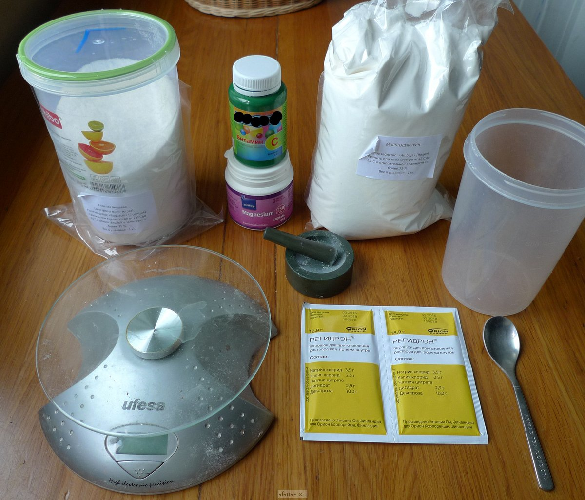 Топ 5 рецептов изотоника своими руками в домашних условиях