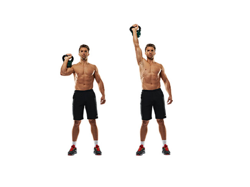 Упражнения с гирей —названия с описаниями. что дают для мышц?