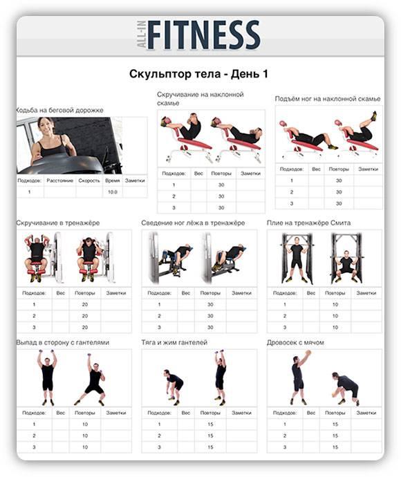 Базовая программа тренировок