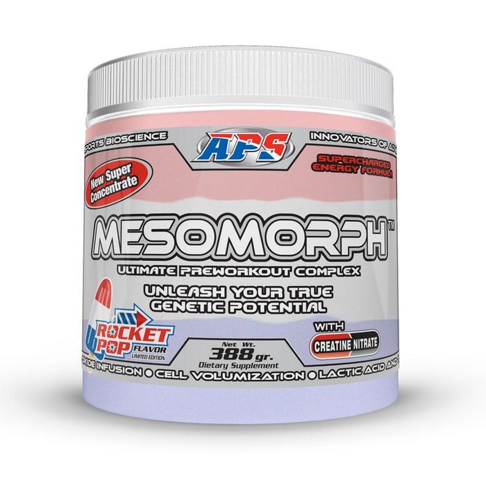 Предтренировочный комплекс aps mesomorph- состав и действие мезоморфа