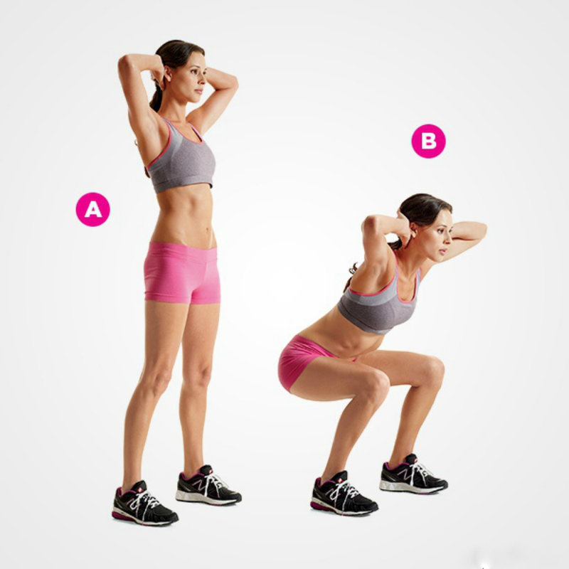 Как правильно приседать чтобы накачать ягодицы девушке | 10 упражнений