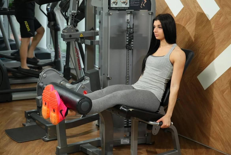 Разгибание ног в тренажере сидя на квадрицепсы: техника выполнения, советы для новичков, видео